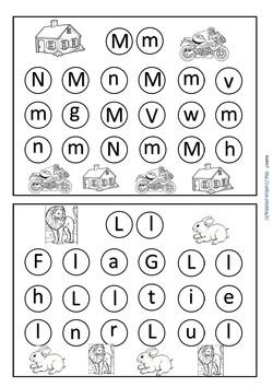 Pour distinguer les lettres