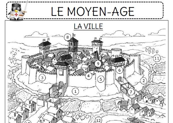 Souvent Le Moyen-Age - L'école de Crevette ME17