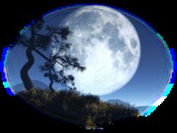 À la lune.........Léon-Pamphile Le May.