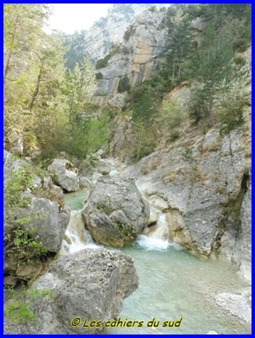 Gorges de Trevans, le pont de tuf