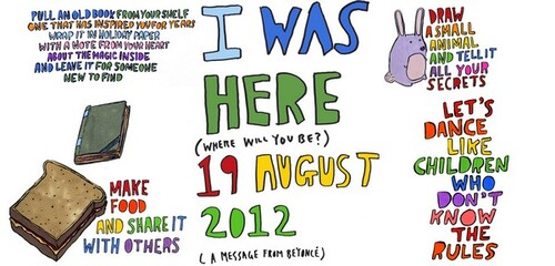 "World Humanitarian Day ""I WAS HERE"""