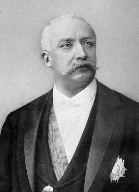 Portrait officiel du président Félix Faure.