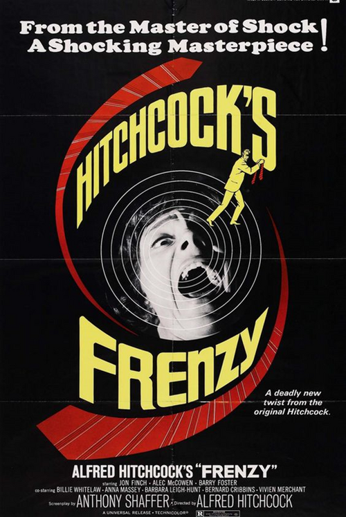 Frenzy, Alfred Hitchcock, 1973