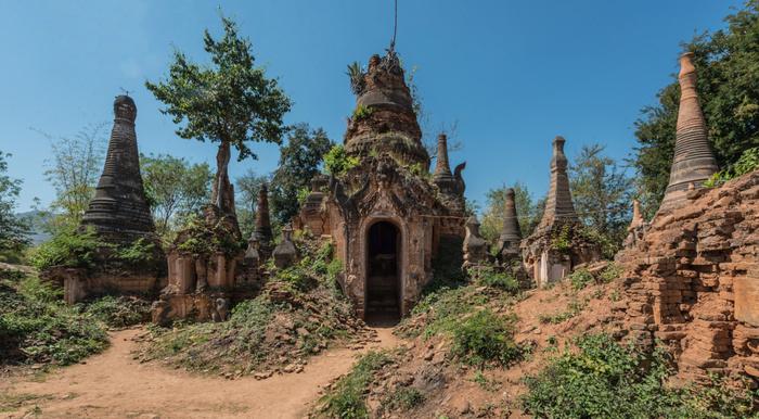 In Dein en Birmanie
