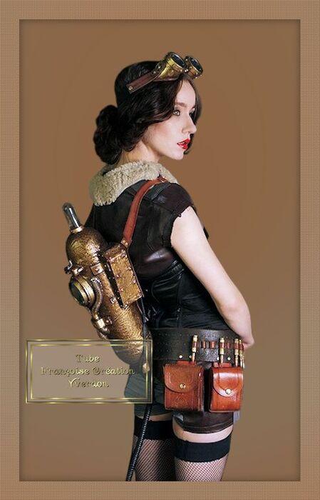 Femmes Steampunck (36 à 48)