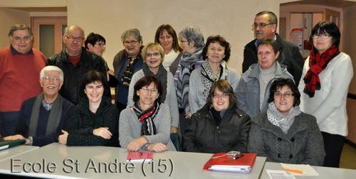 Compte Rendu Réunion du 19 janvier 2015
