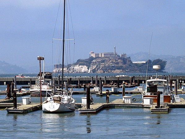 San Francisco port et Alcatraz