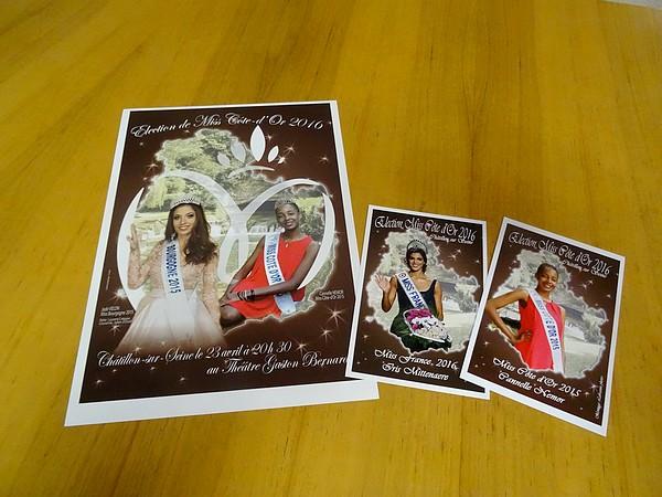 L'élection de Miss Côte d'Or à Châtillon sur Seine aura lieu le samedi 23 avril 2016