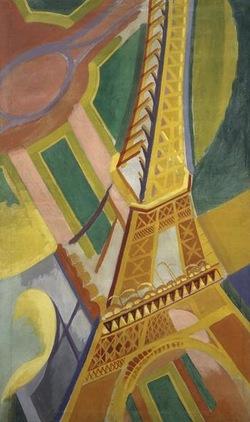 Delaunay et la tour Eiffel