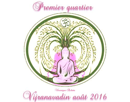 Méditation premier quartier 10 août 2016