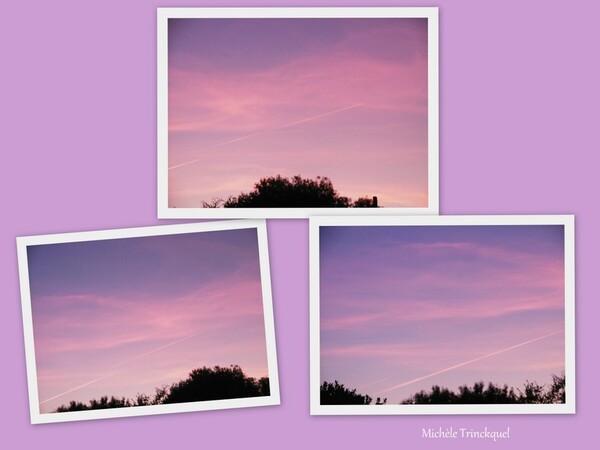 Le ciel au matin du 24 août...;