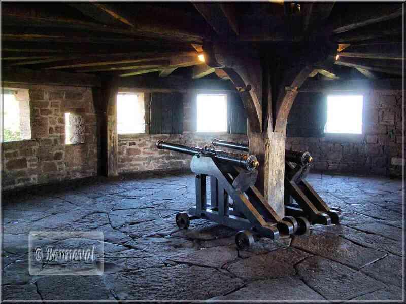 Haut Koenigsbourg le Grand Bastion charpente