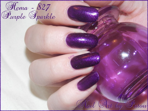 HEMA 827 - Purple Sparkle