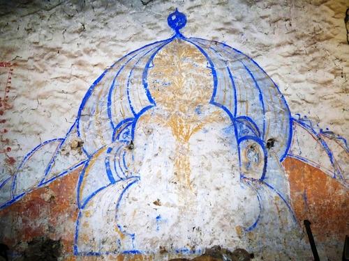D'énigmatiques peintures murales