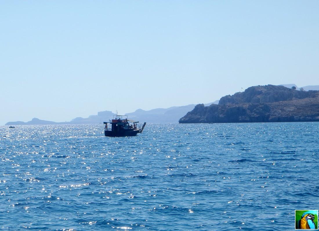 RHODES : Balade en yacht 2/3