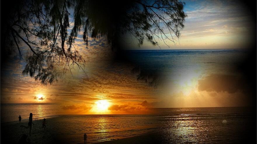 7/10/19 : Couchers de soleil à la Réunion (1/2) -