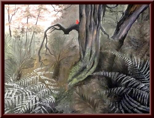 """""""En Australie, des oiseaux"""", une exposition de peintures de Dominique Masson à Saint Marc sur Seine..."""