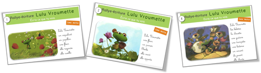 Rallye-écriture: Lulu Vroumette