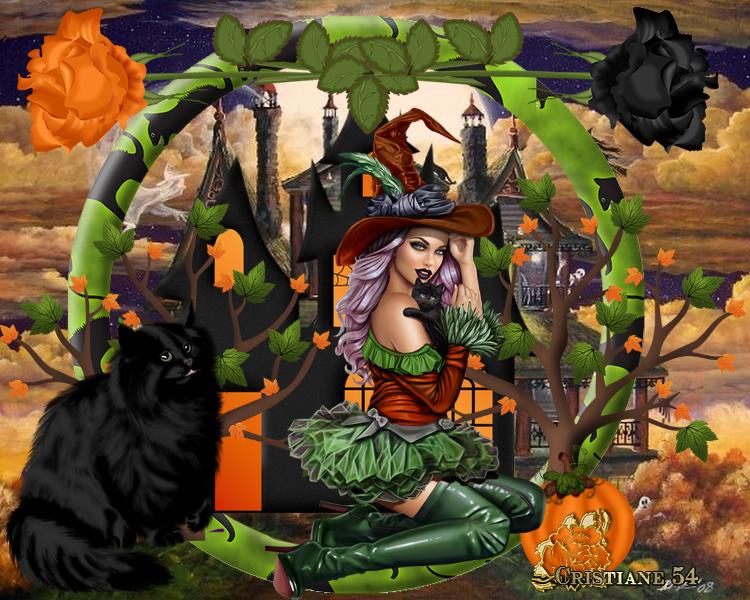 Encore un halloween pour Kikoonette cette fois !