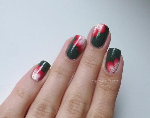 Compilation de mes nail art d'août