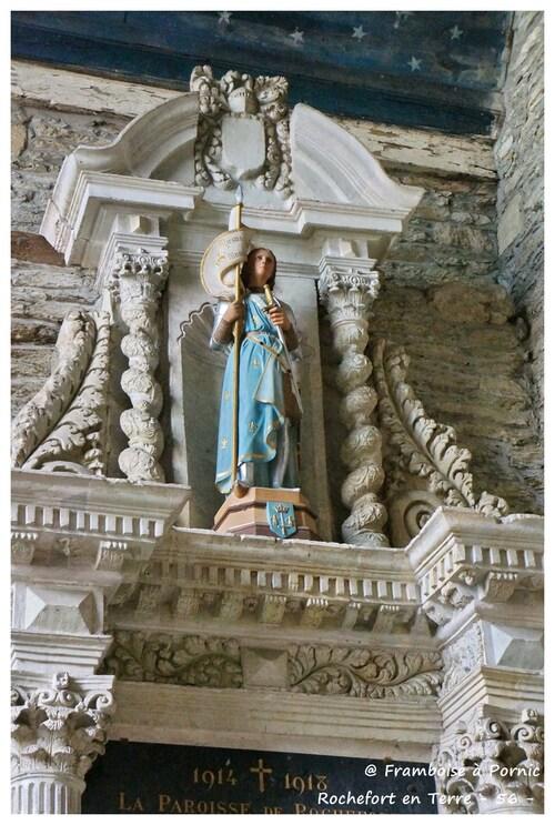 Rochefort en Terre - Eglise ND de la Tronchaye - 56