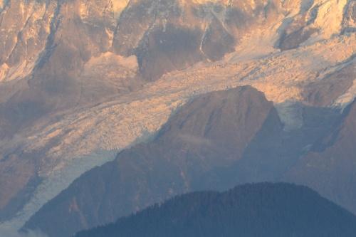 Couché de soleil sur le Mt Blanc