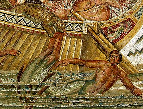 Dionysos et les pirates