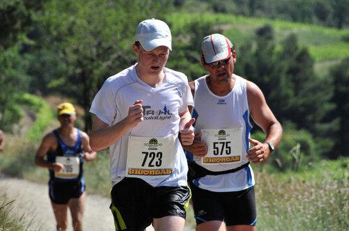 Semi-marathon de Gigondas 2012
