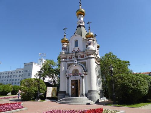 Voyage Transsibérien 2017, le 12/07, 5ème jour, visite d'Ekaterinbourg, le centre ville (4)