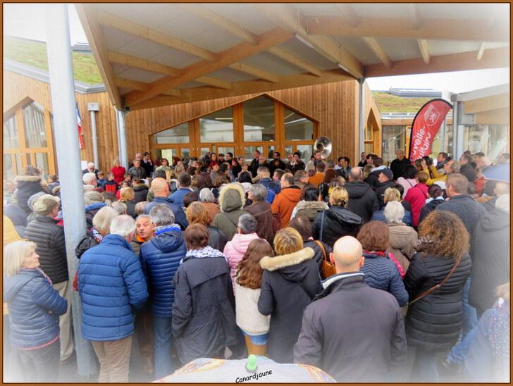 Inauguration de l'école Le cormier à l'Isle d'Espagnac