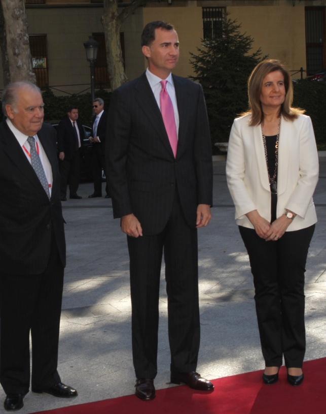 Felipe et les ministres