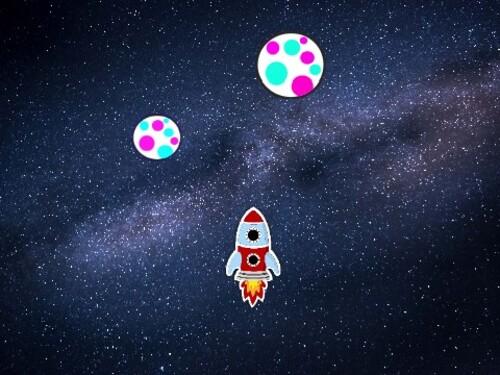 Programmation Scratch 5 (Jeu de la fusée)