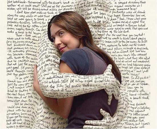 hug de lettres