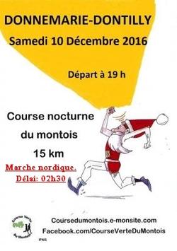 ⇒  Course nocturne du Montois