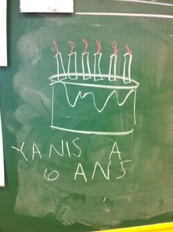 Anniversaire de Yanis