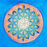 Fleur de Vie: chakra de la Paix