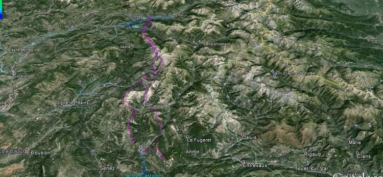 2 jours de cross dans les alpes du sud : acte 2