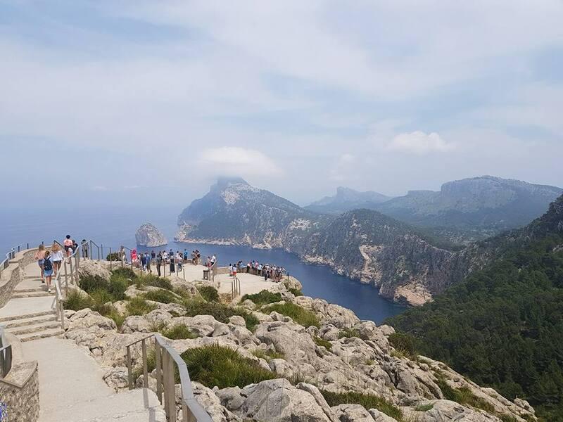 bon lundi de pentecôte à tous et un tour à Formentor ... dans le nord de l'île