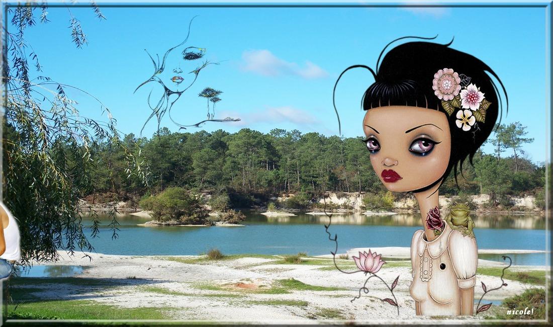 Mon beau lac ...