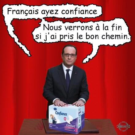Hollande le bon chemin