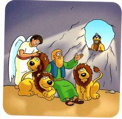 Daniel dans la fosse aux lions (visuels)