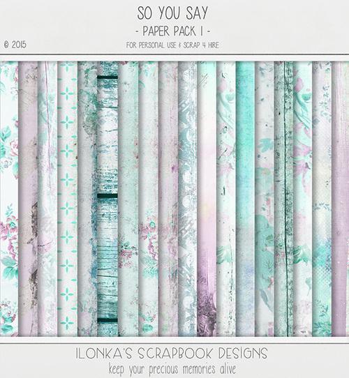 CT de Ilonka's Scrapbook Designs