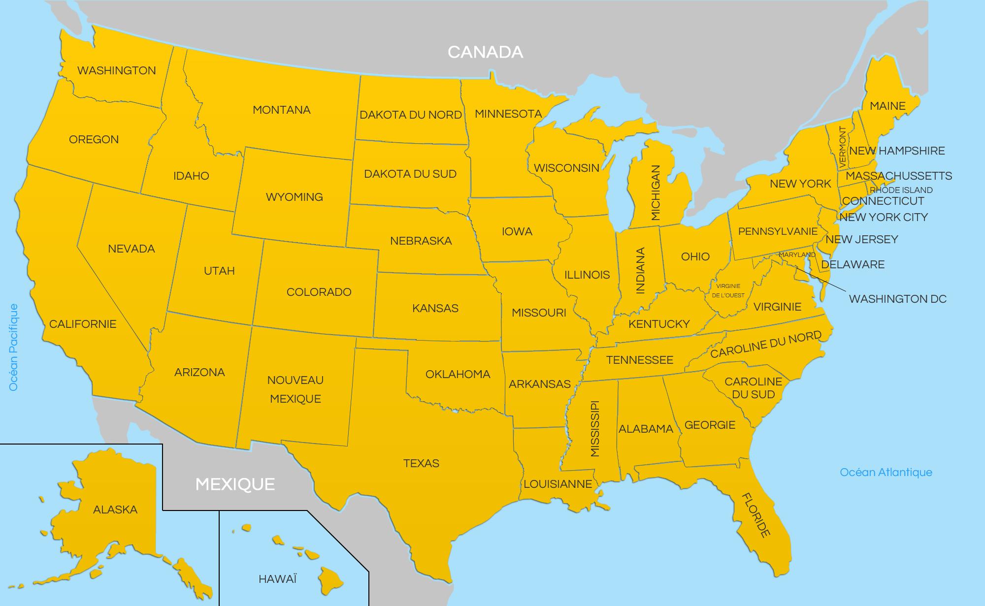 Carte Etats Unis Damerique.Les Etats Unis D Amerique 5 Once Upon A Time Chez Loneci