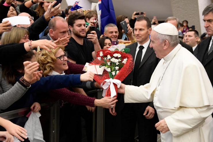 Audience générale du 1er février 2017 © L'Osservatore Romano