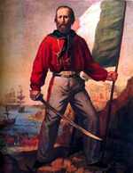 Garibaldi a fumetti (en bd)