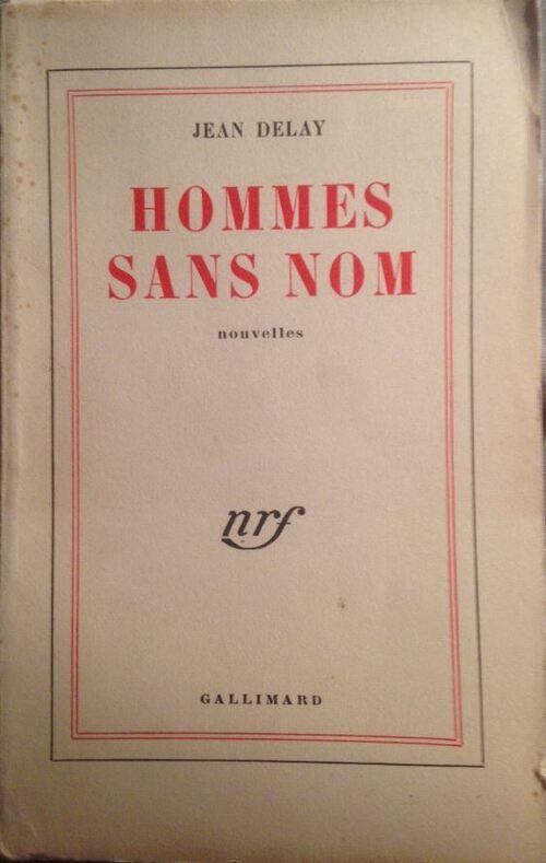 Jean Delay - Homme sans nom (1948)