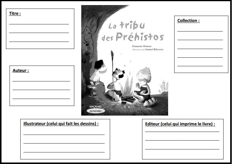La tribu des Préhistos CE1