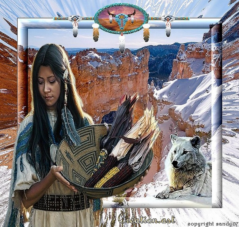 Création.. Amérindienne