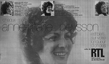 1981 : Sheila nous fait pleurer chez Anne-Marie Peysson sur RTL...