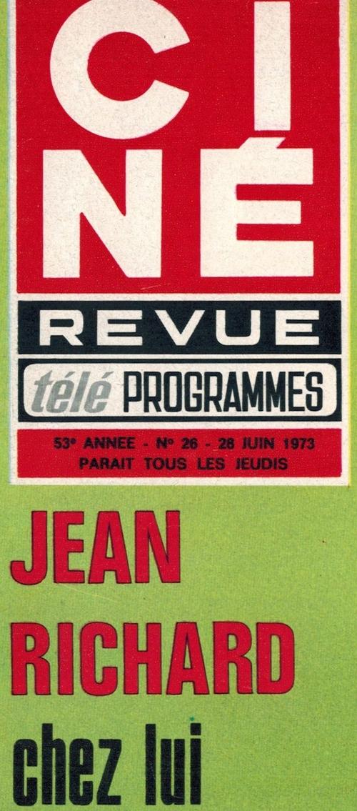 article paru dans CINE REVUE n°26 du 28 juin 1973